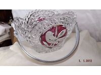Hofbauer crystal candy dish