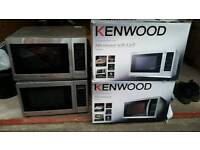 4 kenwood Microwaves for spares and repairs