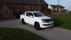 62 REG VOLKSWAGEN AMAROK TDI HIGHLINE 4MOTION 54K-MILES FSH 2-KEY MOT-18 OUTSTANDING PICK UP NO VAT