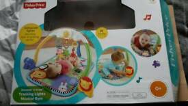 Fisher price musical gym