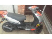 50cc beeline veloce quick sale 120 ono or swaps try me