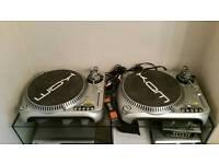 Kam decks mixer amp and speakers
