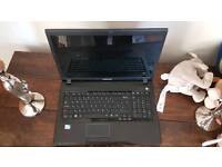 17 inch Samsung r720 Windows 7 laptop