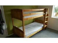 Pine Bunkbeds (without mattresses)