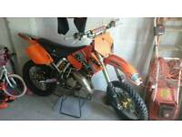 Ktm sx 125 reduced and relisted due to time wasters