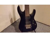 Schecter Demon-7 FR 7 String (Satin Black)-COLLECTION ONLY