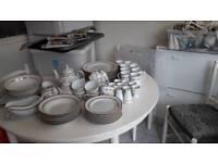 65 piece waterside fine china dinner / tea/ coffee service