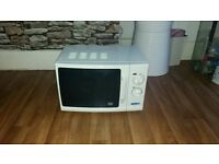white microwave good condition