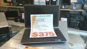 Dell Latitude E6330 i7 Intel 3rd Generation - 8Gb RAM - 128Gb Solid State  -Free Shipping Canada wide - 1 Year Warranty!