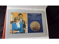 Charles & Diana wedding Commemorative coin