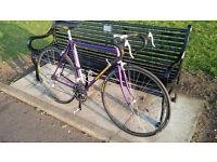 Bob Jackson 1980s vintage road bike reynolds tubing tange fork