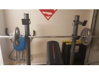 Detachable Multi Position Weight Bench with Cast Iron Weights