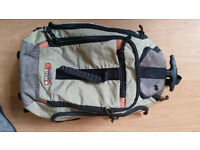 Antler 55cm Cabin Trolley Backpack Rucksack Hand Luggage Suitcase Bag wheels & shoulder straps