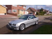 E36, BMW 328i Convertible, Manual, FSH, Great Condition - 12 Months MOT, No Advisories
