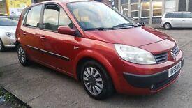 Renault MEGANE SCENIC 1.6 petrol 4 door 2003 reg