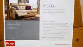 Harvey's Lister Leather Recliner sofas