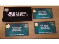 Theatre Tokens worth £60