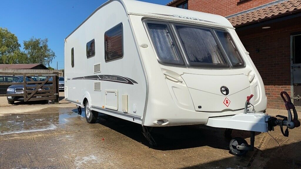2007 Swift Challenger 4 Berth Mint Condition Fixed Bed ...