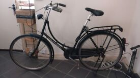 Used Gazelle classic 'oma' sit-up-and-beg bicycle