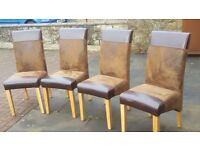 4 Dinning room chairs