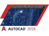 AutoCAD 2018 / 2017 for Windows / Macbook / Imac