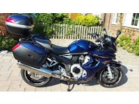 Bandit GSF 1250 CC Grand Touring 2009 Excellent condition Blue with Full Luggage Plus extras