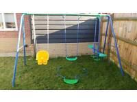 Garden Swingset