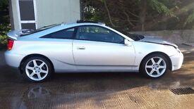 """Toyota Celica gen7 17""""alloy wheels + tyres"""