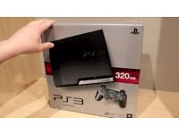 Sony Playstation 3 PS3 Perfect Condition 320GB Slimline Charcoal Black +2 controllers + 11 games