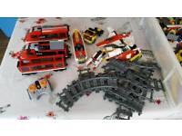 Job lot of Lego Inc a train set