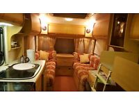 Want to go to FLORIDA. Coachman Amara 520/4 Caravan must go. 4 berth in good condition 2002