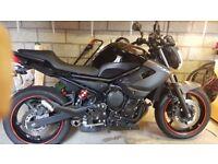 Yamaha xj6 600cc motorcycle