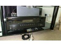 Onkyo TX SR507 / Tannoy SFX 5.1 surround sound system inc stands Excellent condition