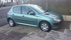 Peugeot 206 petrol 02 reg