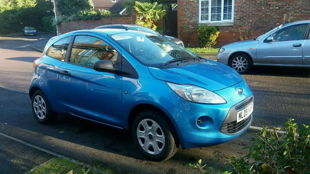 Metallic Blue Ford Ka