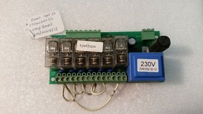 2090021813p Pcb Soap Injection Board 230 Volt Cissell Washer Extractor Parts