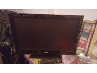 JVC LT-22DD3J 22'' LCD TV with Freeview and DVD player