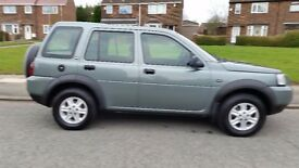 LANDROVER FREELANDER 04 PLATE, FACELIFT VERSION..LONG MOT 01/18, ONLY 84K