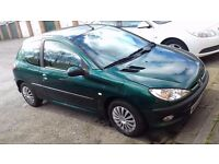 Peugeot 206 1.1 litre cheap car