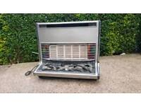 Luxury Gas heater chrome effect solid made