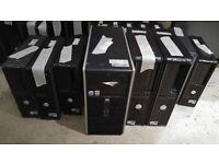 job lot of desktops for repair/resale etc