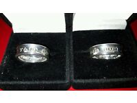 TIFFANY & Co HIS & HERS RINGS SIZE M.5