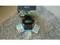 Nintendo WII-U with 3 Games excellent condition
