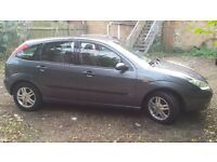FORD FOCUS 1.8tdci. 5 door. 2004. MOT Jan 2017