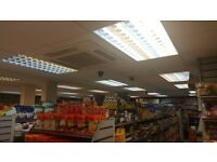 32 x USED Excellent condition retail shop lighting Fluorescent suspended ceiling