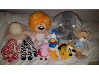 Various teddy's