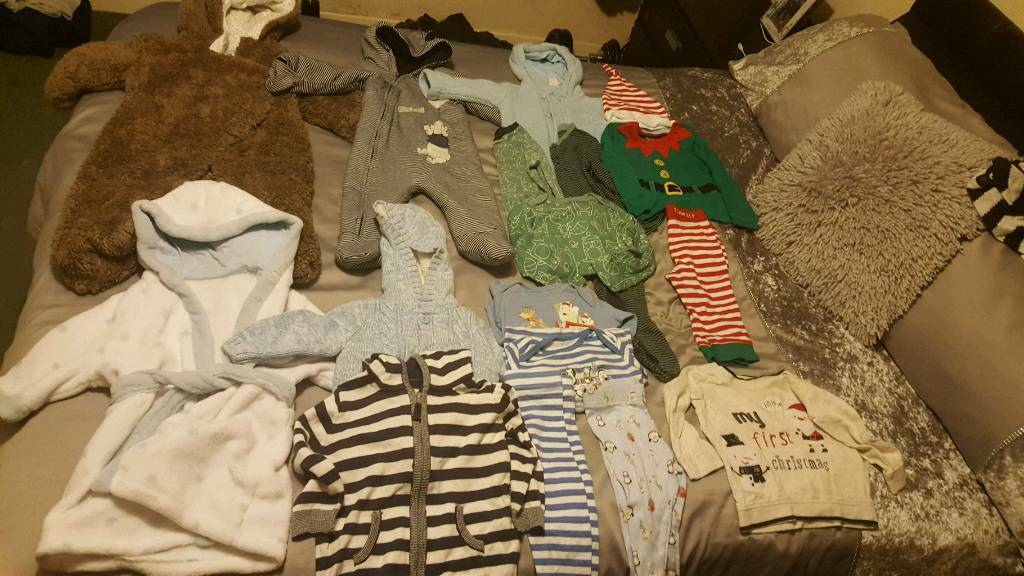 6-9 & 9-12 months boys bundle