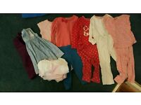 Girls clothes bundle 1 1/2-2years old