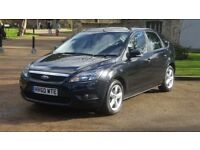 FORD FOCUS 1.6 ZETEC 60PLATE 2010 1P/OWNER 110000 MILES SERVICE HISTORY AIRCON ALLOYS BLACK 5DR