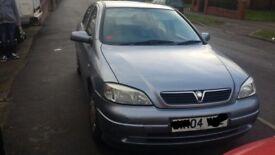 Vauxhall astra club 1.6 2004